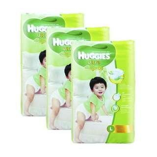 Huggies Ultra Diapers L Size