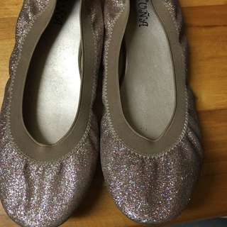 Glittery Doll Shoes
