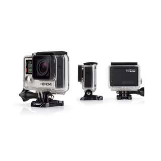 GoPro HERO 4 Black And Silver Edition(ONLY BLACK LEFT)