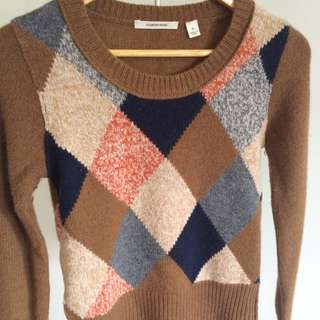 XS Country Road Lambs wool Jumper