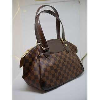 🚚 路易威登 Louis Vuitton LV N41117 棋盤 手提 托特 圓弧 祖母包 元寶包 格紋 肩背包 醫生包