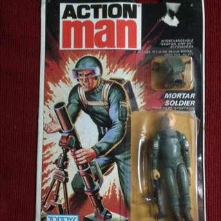Short-Fuze / Mortar Soldier - Action Man Figure v1.5 (1983)