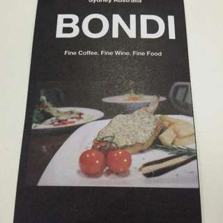 BONDI free lunch set coupon x1