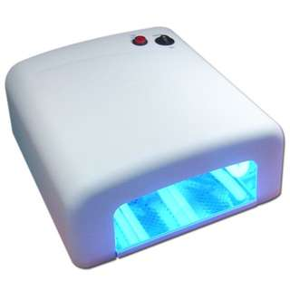 UV Lamp for Gel/Shellac with 4 pcs UV Bulb