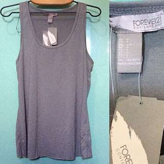 Forever 21 gray tank top