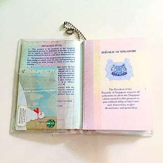Brand New Passport Clear Protection Cover