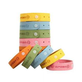 Pack of 10 - Mosquito Repellent Band