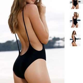 Sexy Bodysuit Open Back- S, M