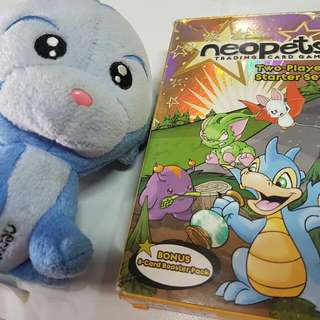 neopets trading card game