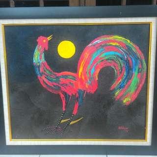 Lukisan Ayam