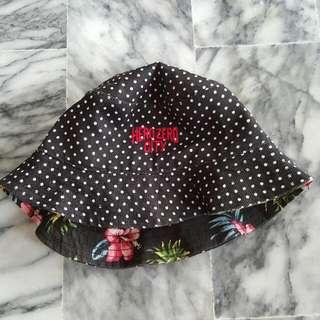 雙面可戴(點點、夏日風情)漁夫帽