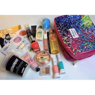 Lush Cosmetics, Body Shop, Crabtree & Evelyn, Elizabeth Arden Body Makeup Bundle