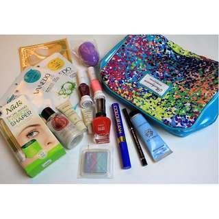 Elizabeth Arden, Crabtree & Evelyn, Body Shop Makeup Body Bundle + Aveda Samples