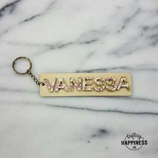Customized Name Keychain