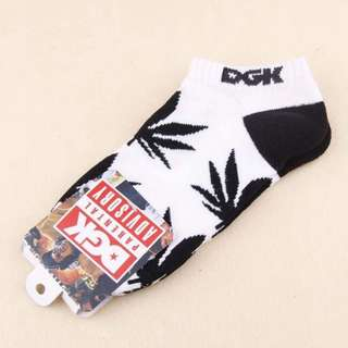 DGK Weed Leaf Ankle Socks