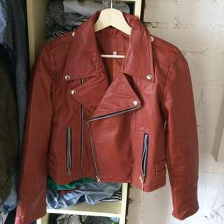 Brand New Leather Jacket