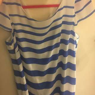 Stripped Target Dress