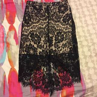 Lace Skirt Size 8