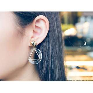 巴黎之都垂墜耳環 / 2色 / Which one do u like Earrings / Bonny & Read