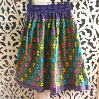 No Label - Ethnic Multicolor Skirt