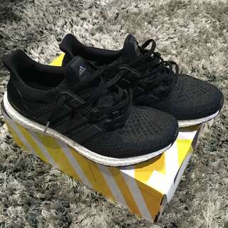 Adidas ultra boost core black 2.0 size 10