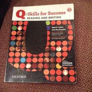 Q5 : Skills for Success