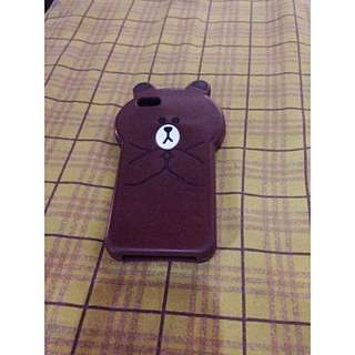 Preloved-Brown Case Iphone 5/5s