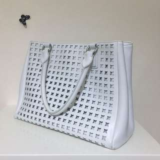 Sportscraft Leather Tote
