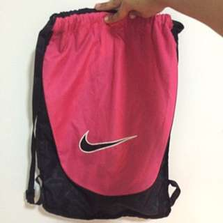 Nike Pink String Bag