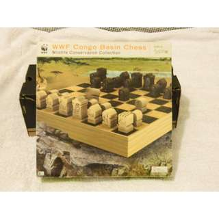 Congo Basin Chess set