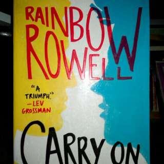 Rainbow Rowell's Carry On