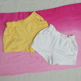 Mother Care Shorts For Girls
