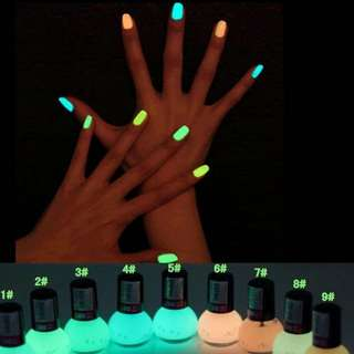 Luminous Gel Nail Polish