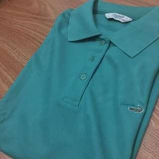 Authentic Crocodile Ladies - Green Polo Shirt