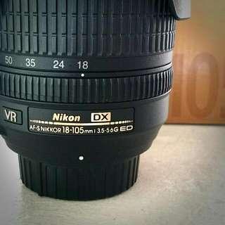 Nikon 18-105mm f/3.5-5.6 VR