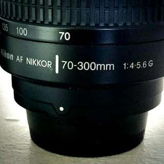 Nikon 70-300mm f/4-5.6G