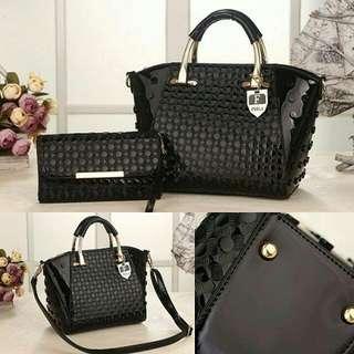 Furla Bag 2in1 D1057 - Black
