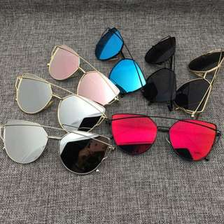 Women Mirror Fashion Sunglasses