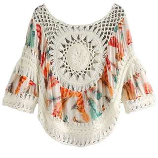 New Crochet Summer Top