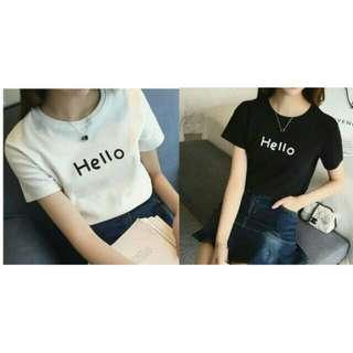 NEW! Hello Clothes (premium Quality/ Baju Bkk/ Outer/ Kaos Bkk/ Kaos Bangkok/ Kaos Murah/ Dress Bkk)