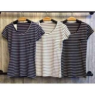 NEW! Baju Stripe/ Stripe Shirt