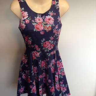 ALL ABOUT EVE FLORAL SUMMER DRESS