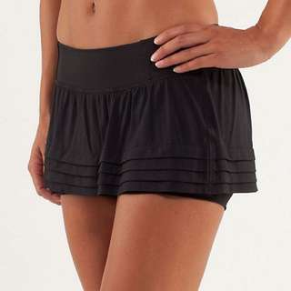 Lululemon Breath Of Fire Skirt