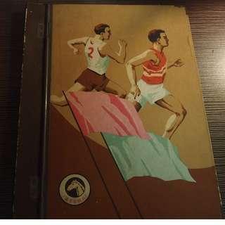 老上海體育文件夾(民國70年)