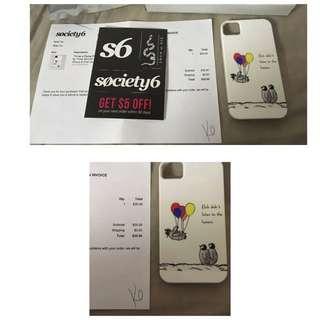 iPhone 4/4s Society6 Phone Case