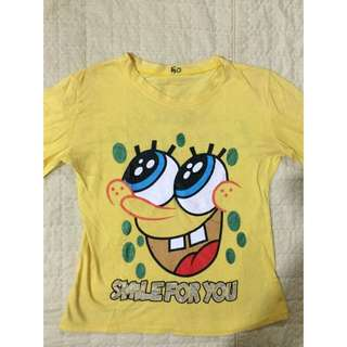 Spongebob long shirt