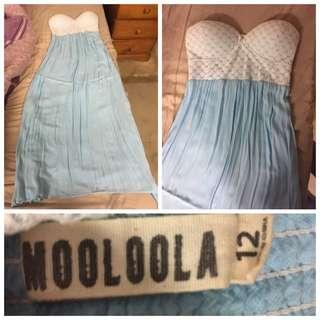 Mooloola Blue Maxi Dress