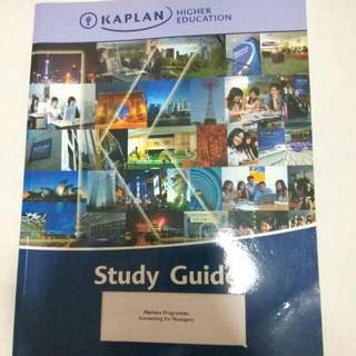 Kaplan Accounting For Managers
