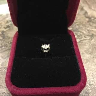45分D色超靚GIA鑽石Cartier C DE鑲法 超級閃