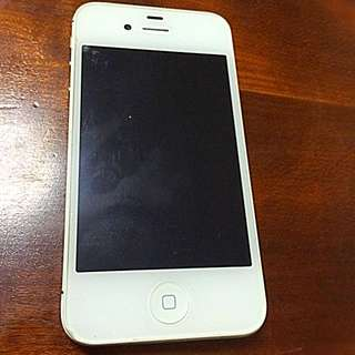 **32GB iPhone 4S White (Wifi & Bluetooth non-functional)**